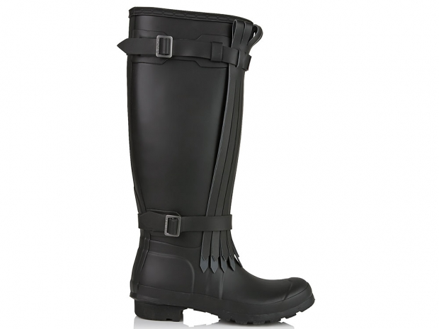 [Hunter Tall Fringed Boots