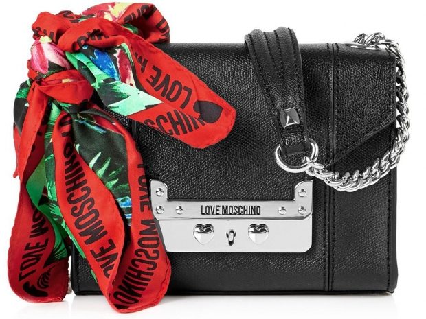 Love Moschino I Love Scarf Mini Bag