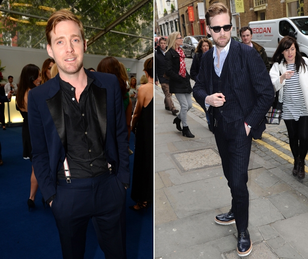 Ricky Wilson Wearing a Suit