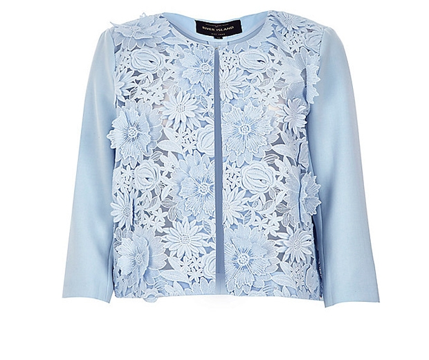 River Island Cropped Jacket, £65