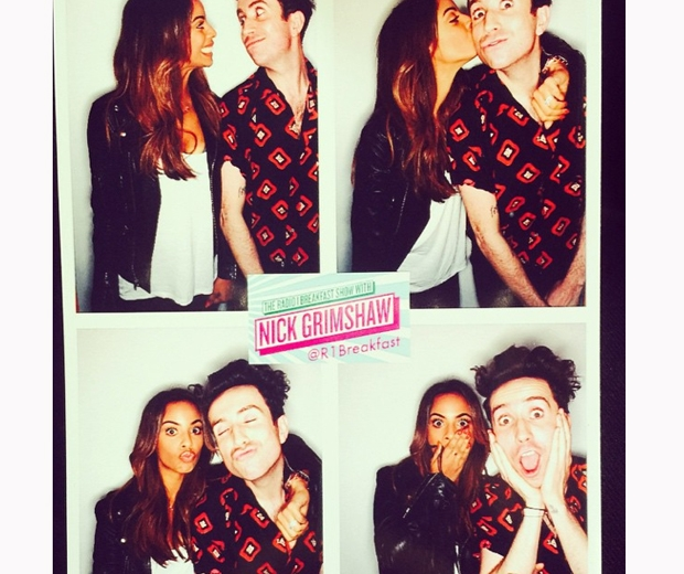 rochelle humes on Grimmy's Radio 1 Breakfast Show