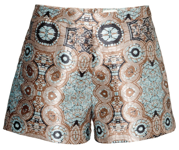Matching shorts from H&M's supermodel approved spring collection