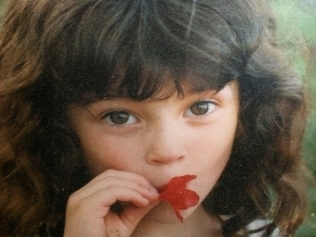 Cara Delevingne's photo of a young St. Vincent