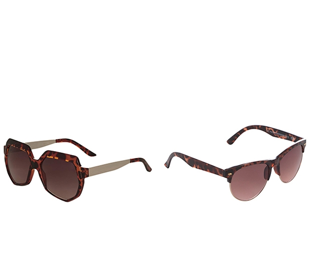 We heart these high street tortoiseshell sunglasses