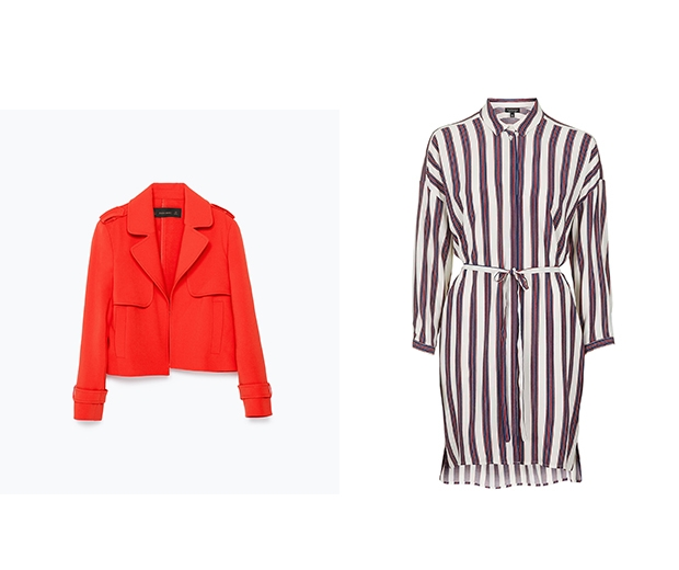 Zar Jacket & Topshop Shirtdress