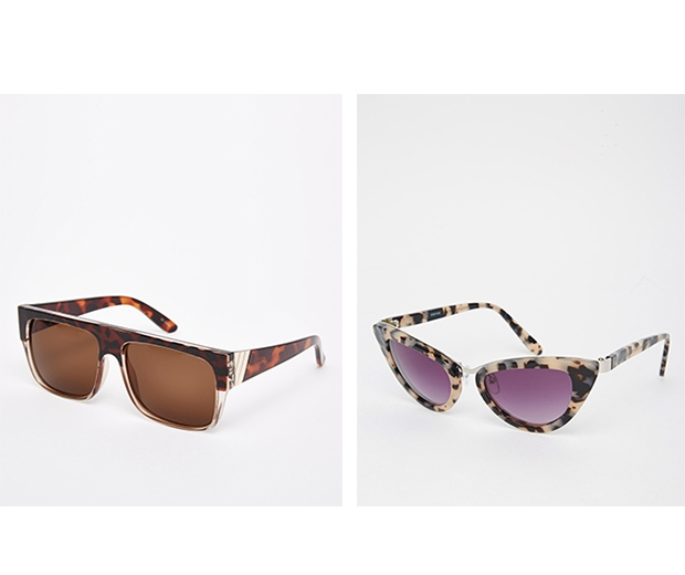 We love these high street tortioseshell sunglasses