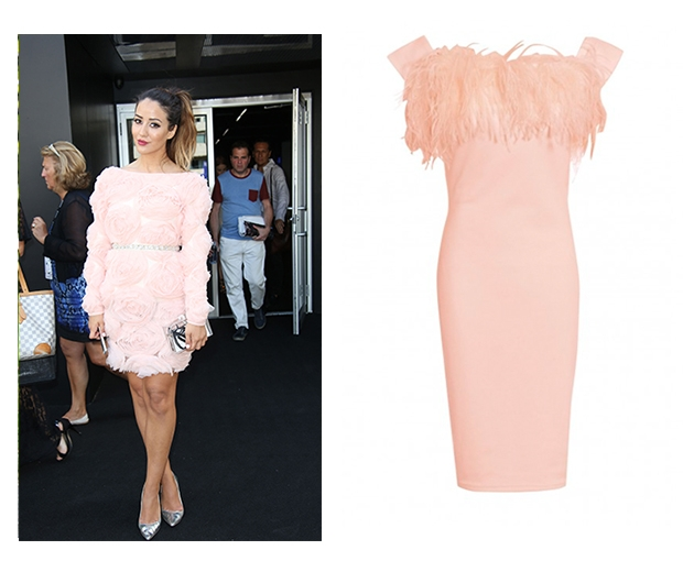 Go ultra feminine with ruffles and texture