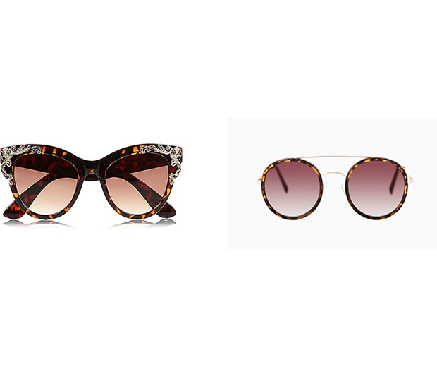 We're crushing on these high street tortioseshell sunglasses