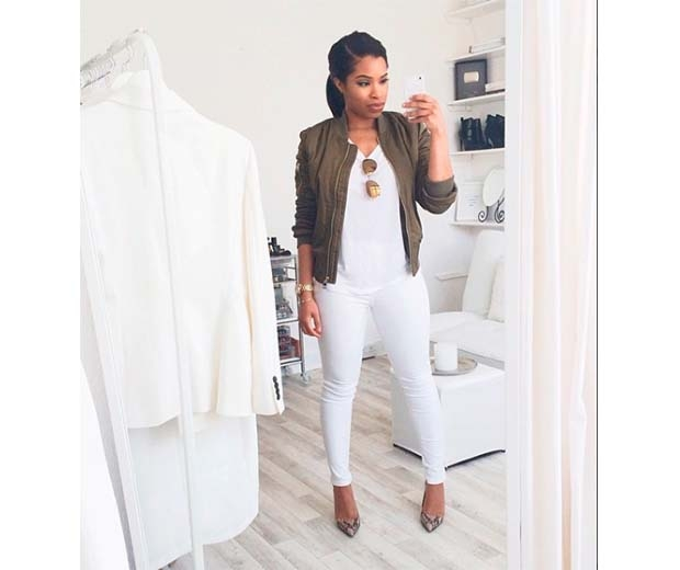 We love Shirley B. Eniang's How I Wear: The Khaki Bomber Jacket vid