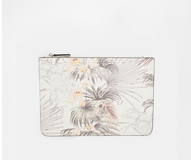 Warehouse Print Clutch, £18