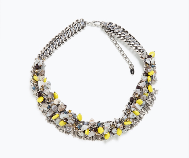 Zara Beaded Necklace, £25.99