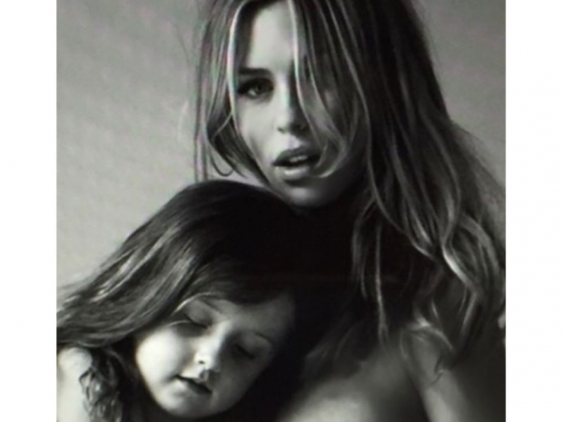 Abbey Clancy and daughter Sophia in Instagram photo