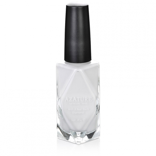 Azature Nail Polish - Faint White Diamond