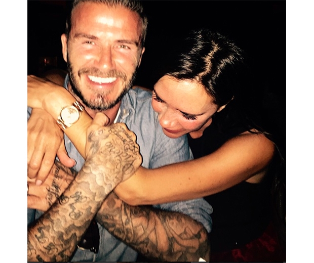 Becks celebrated wife Victoria's birthday in LA recently