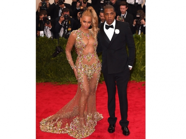 Beyonce looked incredible in her sheer Givenchy dress at the Met Gala 2015