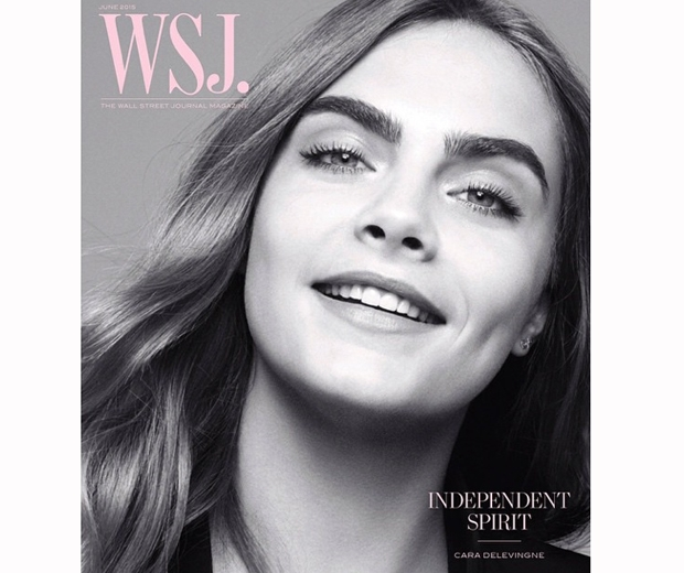 Cara Delevingne speaks to Wall Street Journal in their latest issue
