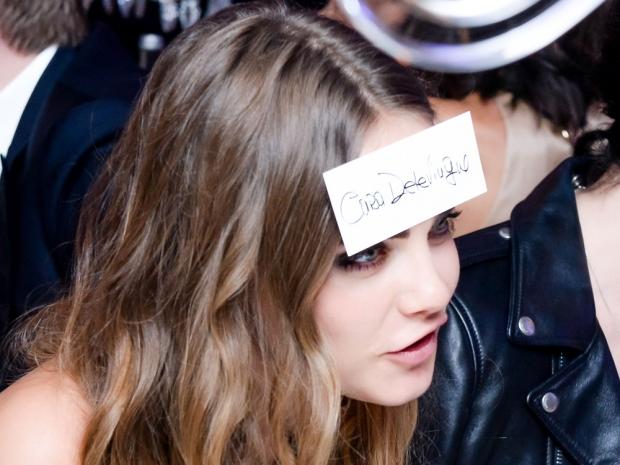 Cara Delevingne at the De Grisogono party in Cannes