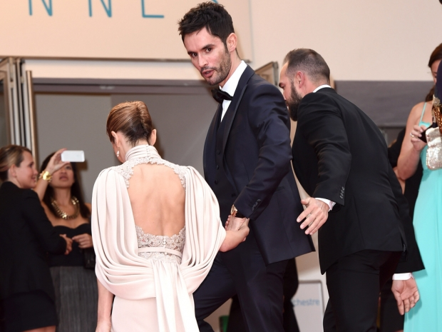 Cheryl and Jean-Bernard Fernandez-Versini at the Cannes Film Festival