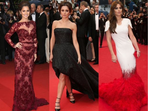 Cheryl Fernandez-Versini in her various Cannes outfits