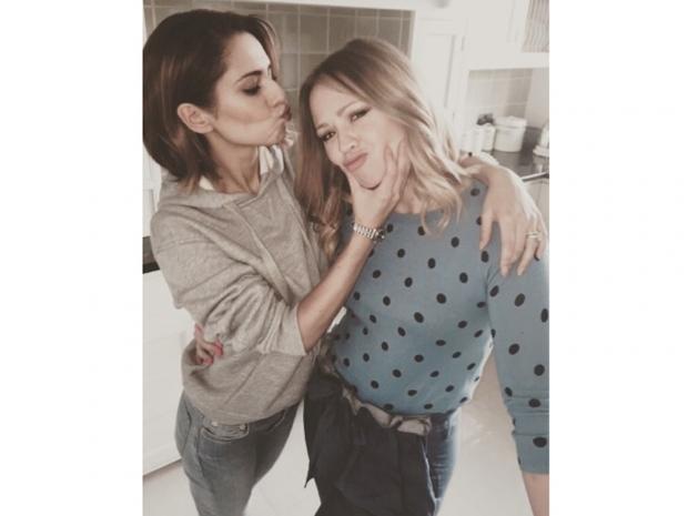 Cheryl Cole jokes around with Kimberley Walsh in Instagram photo