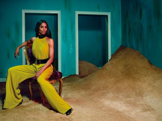 Ciara in the new Roberto Cavalli AW15 ad campaign