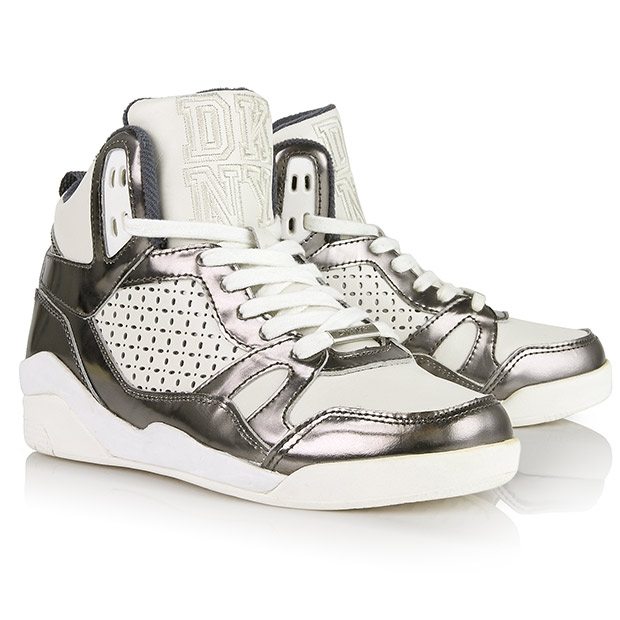 DKNY Cleo Perforated High Tops