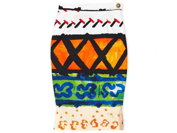 Vivienne Westwood Anglomania Basic Paradise Pencil Skirt