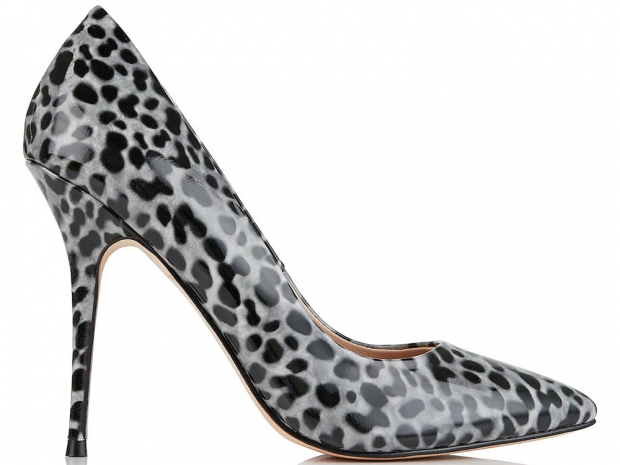 Lucy Choi Aster Leopard Court Shoes