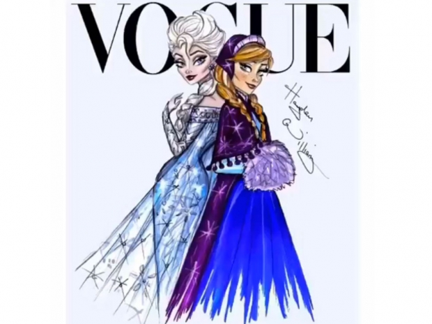 Elsa and Anna Frozen disney sketches hayden williams