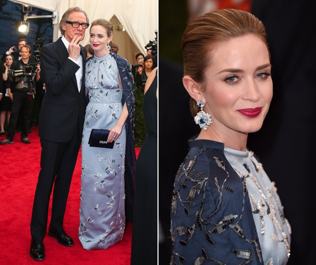 Emily Blunt and Bill Nighy