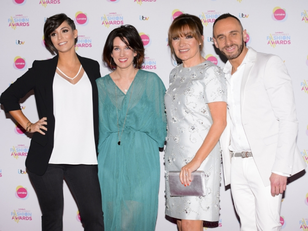 Frankie Bridge at Lorraine's High Street Fashion Awards