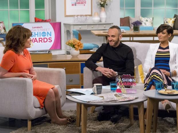 Frankie Bridge chats to Lorraine on her ITV show