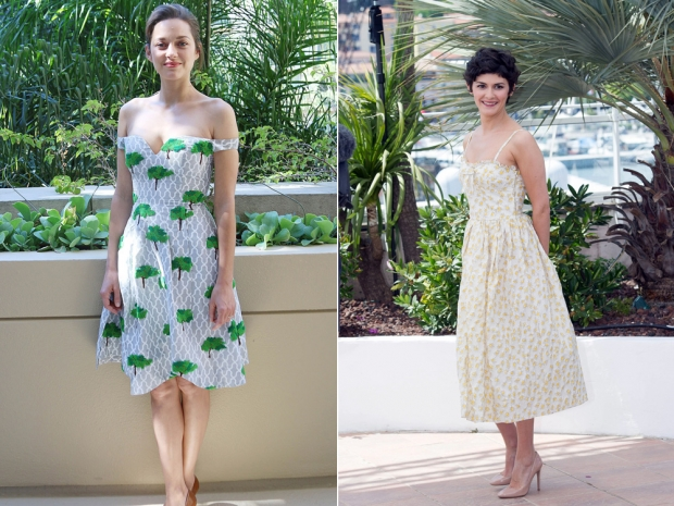 French fashionistas know how to dress for summer in demure dresses