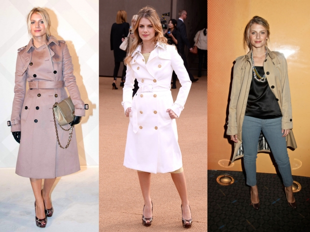 Trench coats have become synonymous with French style