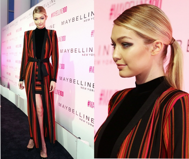 Gigi Hadid At Maybelline New York's 100th Birthday Party