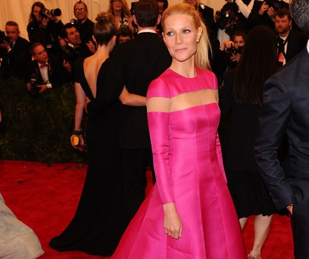 Gwyneth Paltrow at the Met Gala back in 2013