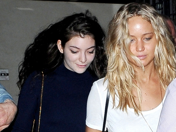 Jennifer Lawrence and Lorde head out in New York