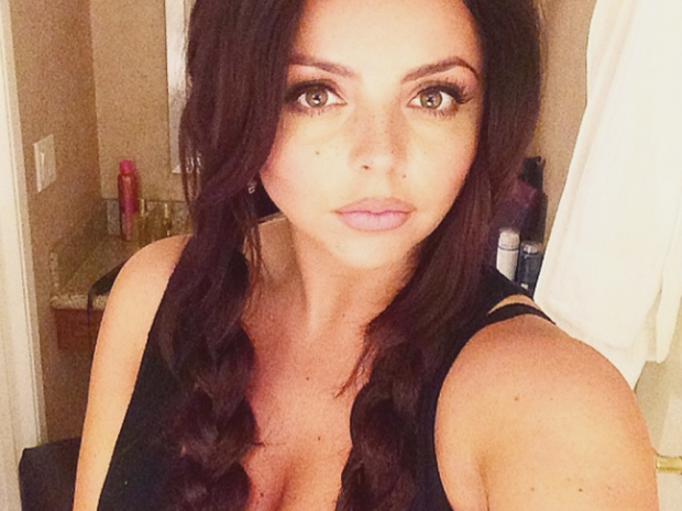 Jesy Nelson has plaits in an Instagram photo