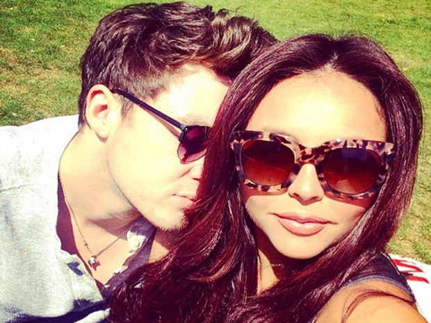 Jesy Nelson and Jake Roche cuddle up in Instagram photo