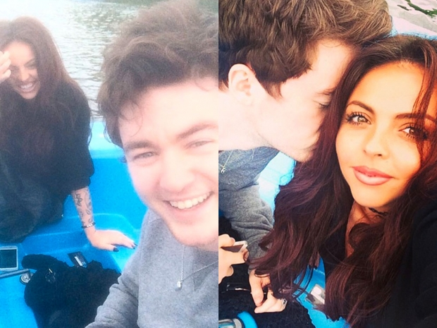 Jesy Nelson hanging out with her boyfriend Jake Roche in Instagram photo