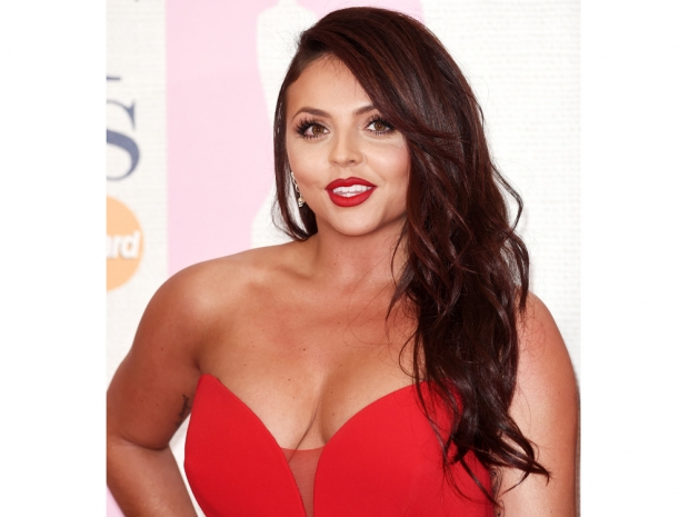 Jesy Nelson with thinner locks at the Brit Awards
