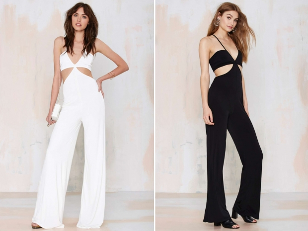 Nasty Gal's designer dopplegangers in the sold-out white style and in black