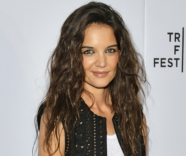Katie Holmes previously sported long, wavy hair. What a change!