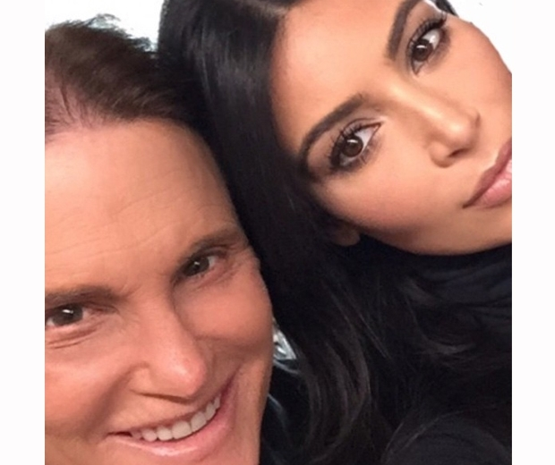 kim kardashian and stepdad Bruce Jenner