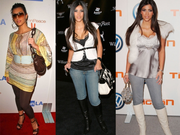Kim Credits Her Style Transformation To Hubby Kanye | Look