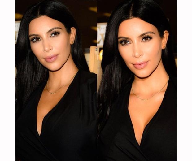 kim kardashian at la selfish book signing