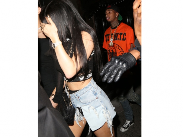 Kylie Jenner and Tyga are rarely photographed together