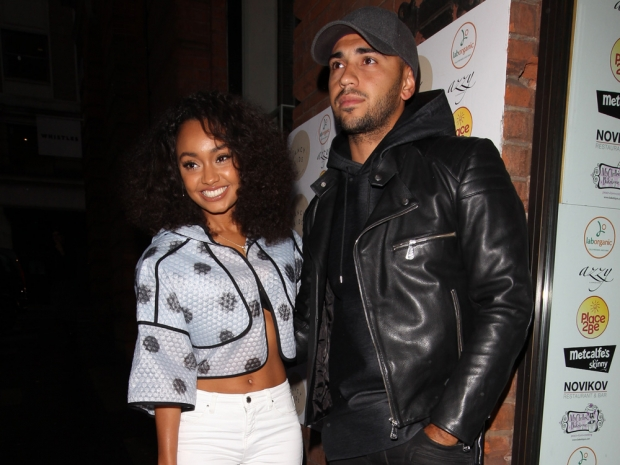 Leigh-Anne Pinnock and Jordan Kiffin out in London