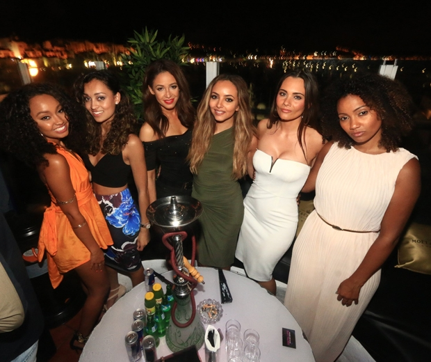 little mix in marbella