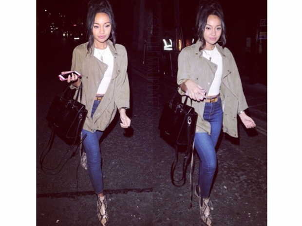 Leigh-Anne Wears Topshop And Zara